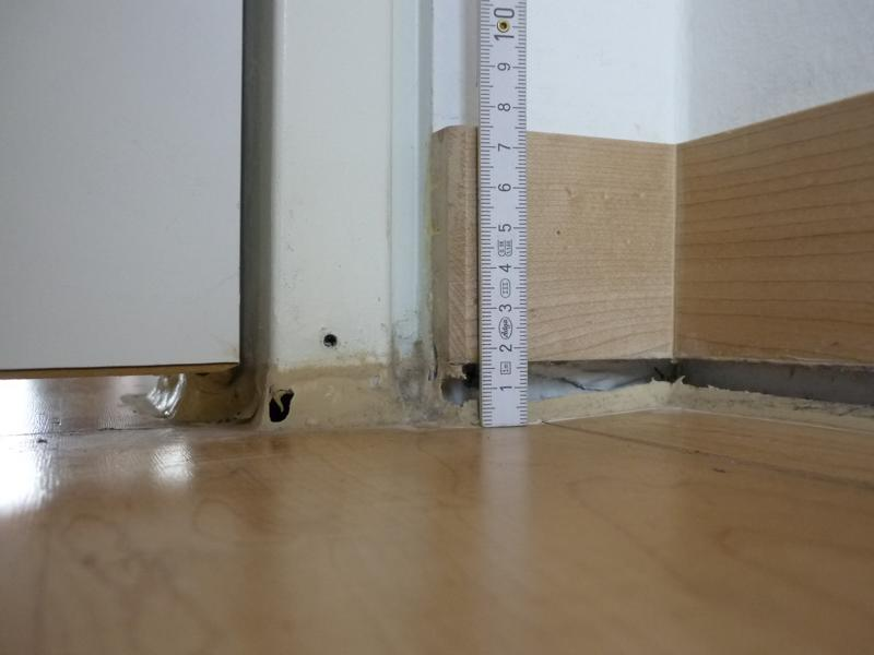 Finding the causes for the subsidence of the parquet in a block of flats in Munich